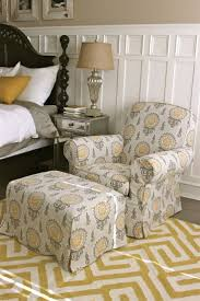 Grey Slipcover Chair 108 Best Patterned Slipcovers Images On Pinterest Slipcovers