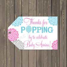 ready to pop baby shower tags baby shower favor tags thank you