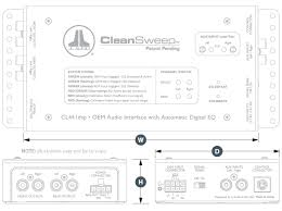 cl441dsp car audio oem interface oem integration jl audio