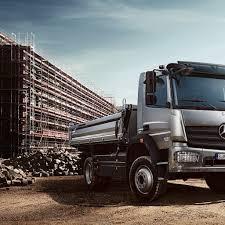 mercedes truck 2016 mercedes benz atego wins best civil engineering truck 2016