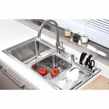 Sinks Stainless Steel Kitchen by Practical Double Sinks Stainless Steel Kitchen Sinks With Faucet