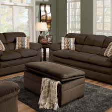 Oversized Loveseat With Ottoman Furniture Grey Fabric Upholstered Oversized Storage Ottoman With