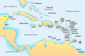 carribbean map caribbean maps caribbean islands caribbean locations