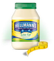 hellmans light mayo nutrition hellman mayonnaise low fat green 420g 7122 4 95