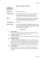coms 101 informative speech outline coms 101 informative speech