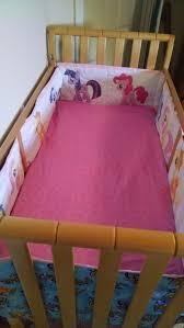 Pony Crib Bedding Custom My Pony Crib Set Blue Pink Madfoamingcat S