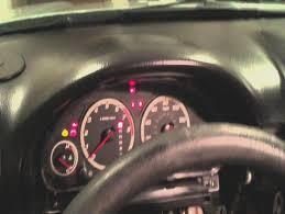 honda crv engine light honda cr v instrument cluster lights replacement hd youtube