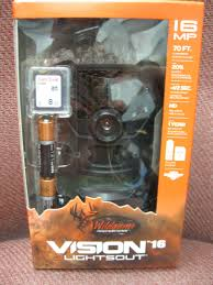 wildgame innovations lights out new wildgame innovations vision 16 lightsout game trail camera