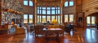 luxury log home interiors luxury log cabin homes