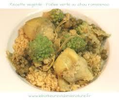 comment cuisiner le chou romanesco lebonheurestdanslanature