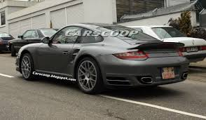 porsche carrera 2010 2010 porsche 911 turbo coupe and cabriolet facelift models spied