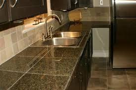 tile kitchen countertop designs stunning granite tile kitchen countertops for countertop 9601