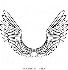 royalty free wing design stock logo designs
