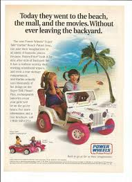 barbie jeep power wheels 90s 1995 advertisement power wheels by fisher price super talk