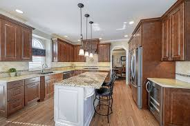 steve terri s kitchen remodel pictures home remodeling kitchen remodeling ideas wood cabinetry light granite carol stream il illinois sebring services