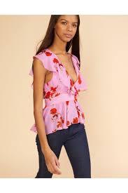 cynthia rowley blouse malibu ruffle top by cynthia rowley at orchard mile