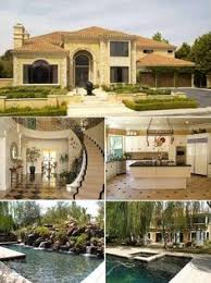 Beautiful Homes In California Mansion In Ground Pool Fancy Kitchen Hell Yes Lotto Winner