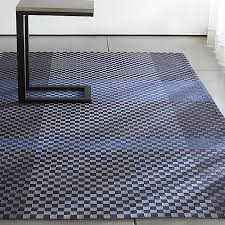 Crate And Barrel Rug Allta Blue Indoor Outdoor Rug Crate And Barrel