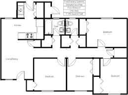 5 bedroom floor plan fred factory gardens