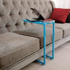 c table with wheels metal c table blue the yellow door store