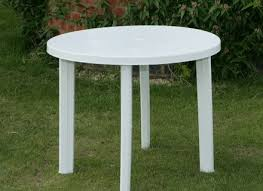 Outdoor Round Patio Table White Round Patio Table Jennyoctonails Com