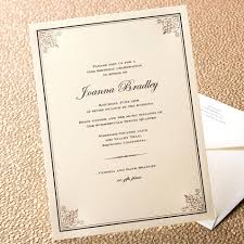 Invitation Card Application Etiquette A Perfectly Proper Invitation For Every Soiree Style