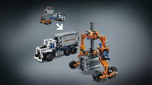 lego technic 42062 container yard products lego technic lego com
