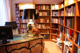 interior decoration ideas for library wall art for home library