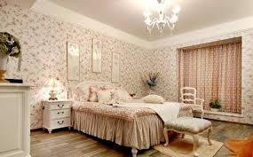 Wallpaper Design In Bedroom Wallpaper Bedroom Design Pastoral Style Bedroom Wallpaper Design
