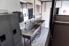 Locker Room Furniture Locker Room Shower Trailer Columbus Oh U0026 Kingman Az Porta Kleen