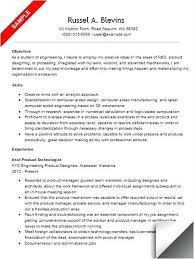 resume samples for design engineers mechanical mechanical engineer