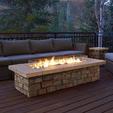 Patio Table With Built In Fire Pit - best 25 deck fire pit ideas on pinterest backyards firepit
