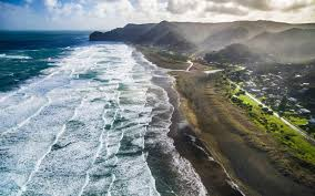beaches with black sand where on earth to find a black sand beach travel leisure