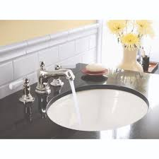 Kohler Bancroft Sink Faucet Kohler K 10577 4p Sn Bancroft Vibrant Polished Nickel Two Handle