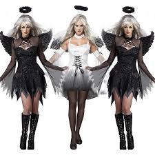 Devil Angel Halloween Costumes Halloween Women Dark Angel Devil Costume Party Perform Dress
