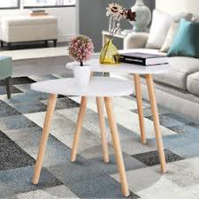 end table set of 2 classic coffee accent table set of 2 side end table desk white
