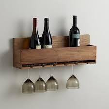 wine stem rack crate and barrel
