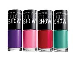 maybelline color show nail lacquer collection lets you taste the