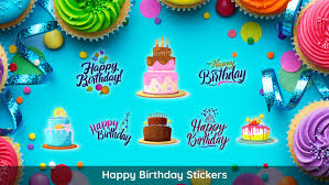 birthday stickers birthday imessage stickers app on the app store