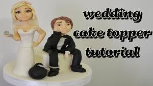 wedding cake topper fondant tutorial sposi in pasta di zucchero