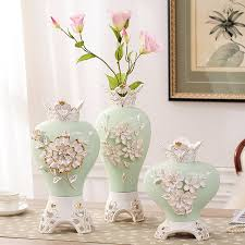handmade wedding gifts fashion tabletop ceramic flower vase flower design home decoration