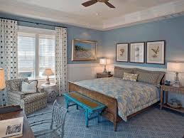 room paint design floor to ceiling curtain tall tufted headboard