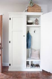 Entryway Armoire by Ana White Mudroom In An Armoire Diy Projects