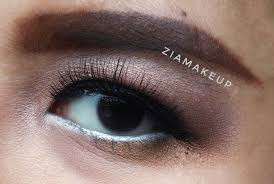 Aplikasi Eyeshadow Sariayu review wardah eyexpert eyeshadow ziamakeup