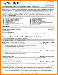 Art Resumes Sample Accounting Resume Art Resumes