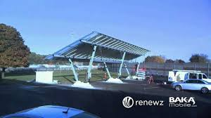 how to build a solar power carport and electric vehicle charging