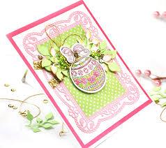 scrap escape pop up ornament swag card diy