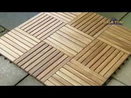 outdoor teak patio wooden decking flooring youtube