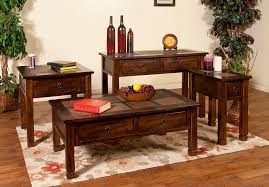 End Table Ideas Living Room Slate Top End Table Is Practical And Fun House Design