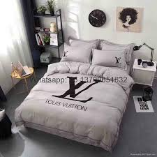 Louis Vuitton Bed Set Bedding Lv Versace Givenchy Blanket Lv Bed Sheet Lv Bed Sheets China
